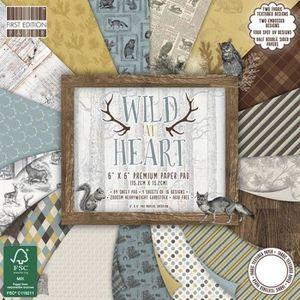 LA FOURMI Set de Scrapbooking 15x15cm Wild At Heart
