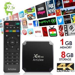 BOX MULTIMEDIA TV Box - Artizlee® Décodeur Multimédia Boîtier 4K