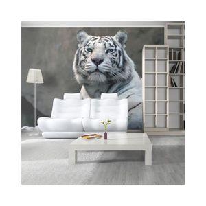 papier peint tigre achat vente pas cher. Black Bedroom Furniture Sets. Home Design Ideas