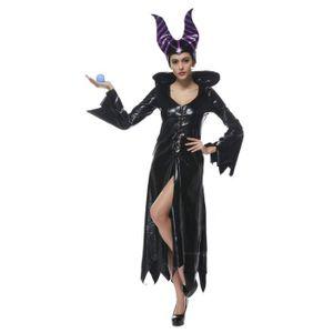 Ensemble de vêtements Smile Halloween Costumes Femme Déguisement Sorcièr