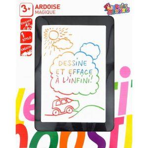 ARDOISE ENFANT Ardoise Magique Couleurs Forme Tablette + Stylet