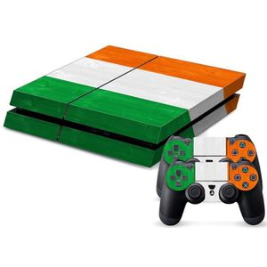 STICKER - SKIN CONSOLE (#121) Cote D Ivoire Flag Pattern Decal Stickers f