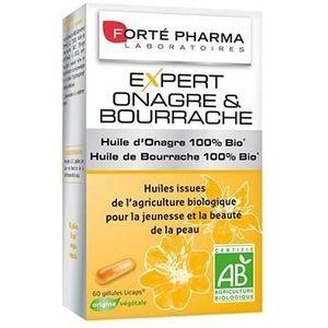 DÉFENSE IMMUNITAIRE  FORTE PHARMA EXPERT - Onagre/Bourrache - 60 gélule