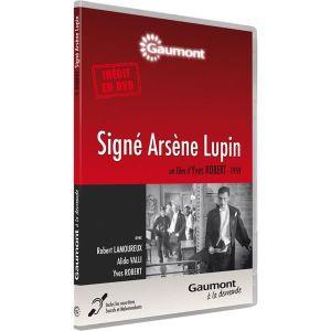 DVD FILM Signé Arsène Lupin : Robert Lamoureux, Alida Valli
