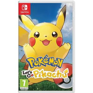 JEU NINTENDO SWITCH Pokémon Let's go Pikachu Switch + 1 Figurine Pokém