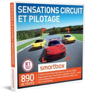 COFFRET SPORT - LOISIRS Coffret Cadeau - Sensations circuit et pilotage -