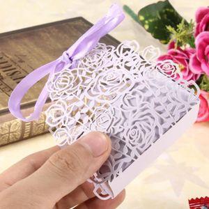 BOÎTE À DRAGÉES TEMPSA 12pcs Luxe boîtes en papier pour mariage bo