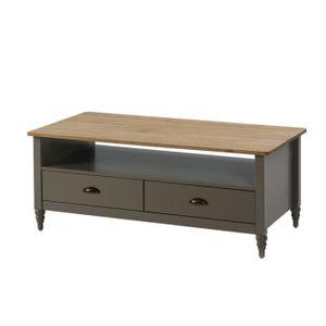 table basse bois gris achat vente pas cher. Black Bedroom Furniture Sets. Home Design Ideas