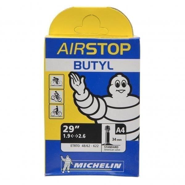 MICHELIN - Chambre à air 29 pouces type A4 modèle AIRSTOP Butyl dimensions 48/54X622 valve standard 40mm