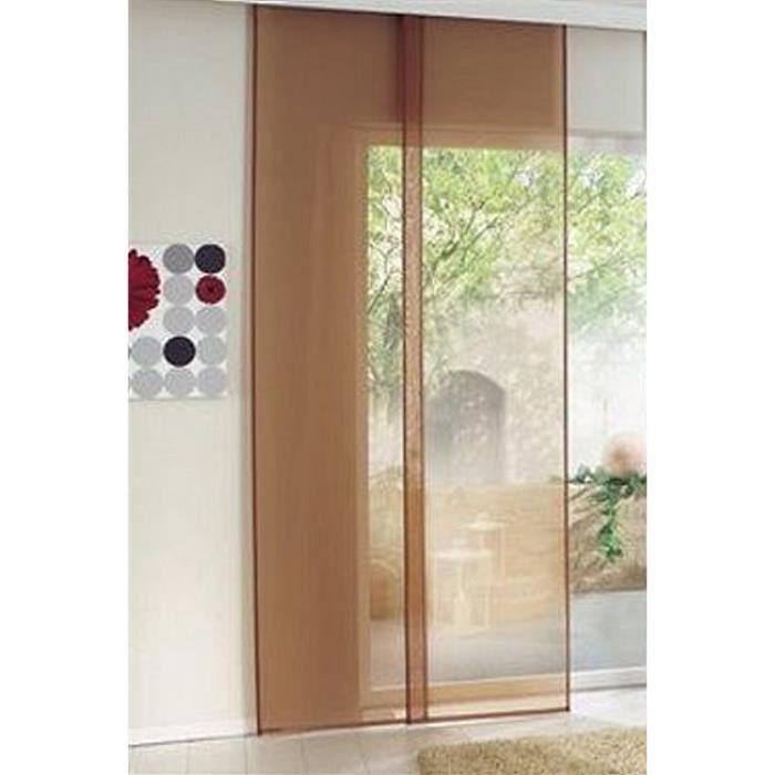 Rideau coulissant 57x225 rideaux rideaux panneau rideau coulissant en terre cuite achat - Panneau rideau coulissant ...
