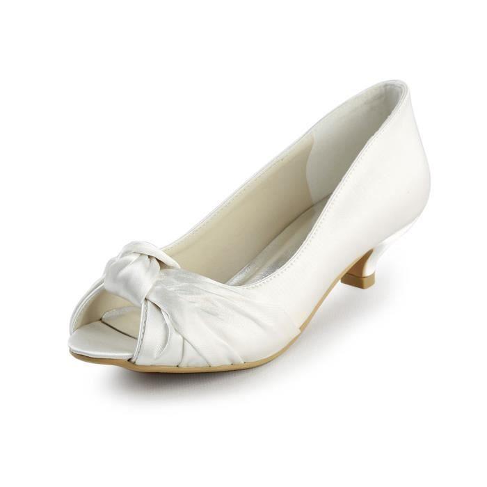 Jia Jia Wedding 00111 chaussures de mariée mariage Escarpins pour femme