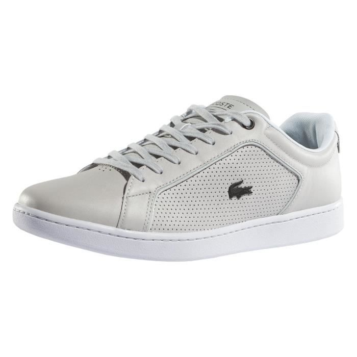 79665651da87 Lacoste Homme Chaussures    Baskets Carnaby Evo 317 10 SPM Gris ...