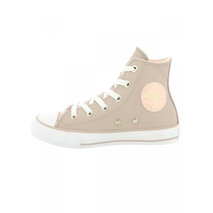 abe93073fb BASKET CONVERSE - Baskets chuck taylor all star rose clai. Chaussures enfant  fille ...
