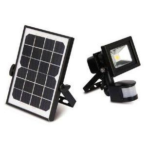 eclairage exterieur led solaire avec detecteur blanc. Black Bedroom Furniture Sets. Home Design Ideas