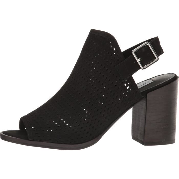 Brut-22 Glitter Slip On Chunky Heel Over The Knee Sock Stretchy Fitted Boots UAVOV Taille-40 1YU416N