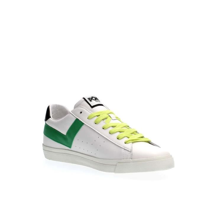 PONY SNEAKERS Homme WHITE GREEN, 41
