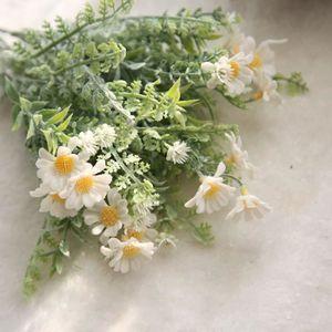 FLEUR ARTIFICIELLE Fleurs artificielles Faux Mid Chrysanthème Floral