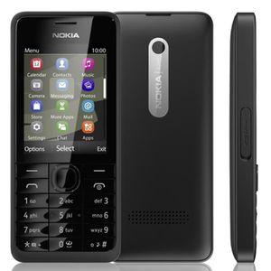 SMARTPHONE Noir- Pour Nokia 301 Single SIM Card occasion débl