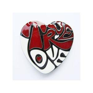 Boucle de ceinture coeur true love rouge pin up femme sexy - Achat ... ce3b27f93e2