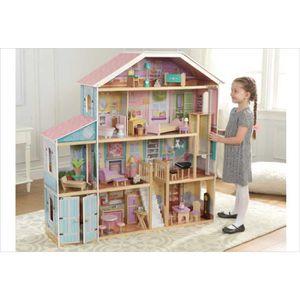 MAISON POUPÉE Tres grande maison de poupée en bois - compatible