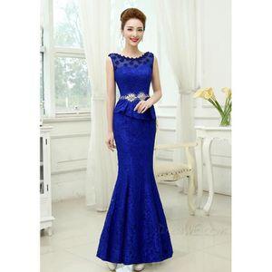 8cee01a9763 robes de soirée pas cher robe de femme fourreau bleu robe longue pour  mariage
