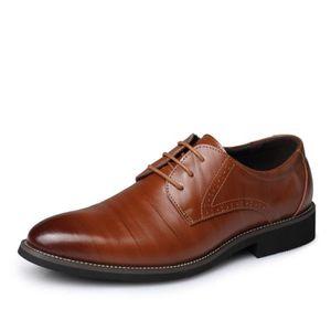 Chaussures en cuir d'affaires classiques de style britannique pour hommes Chaussures richelieu Vintage Bullock Design pour homme Ia0UyF
