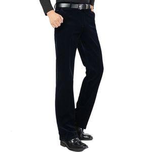 PANTALON Pantalon Velours Côtelé Homme Casual Pantalon Styl