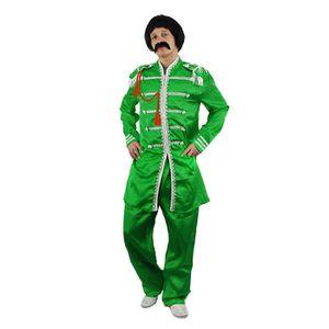 DÉGUISEMENT - PANOPLIE Costume vert du plus célèbre groupe pop anglais de