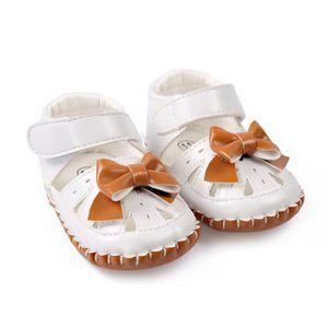 Frankmall®Bébé filles mignonnes chaussures de berceau princesse fleur Soft premarcher semelles anti-dérapantes BLANC#WQQ0926213 YymPEAvW