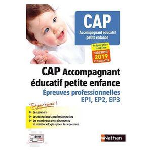 AUTRES LIVRES CAP accompagnant éducatif petite enfance : épreuve