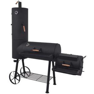 BARBECUE Barbecue au charbon de bois avec étagère inférieur