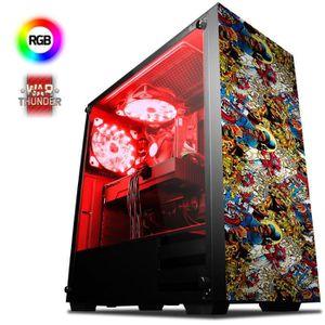 UNITÉ CENTRALE  VIBOX Mercury 20 PC Gamer - AMD 8-Core, Geforce GT