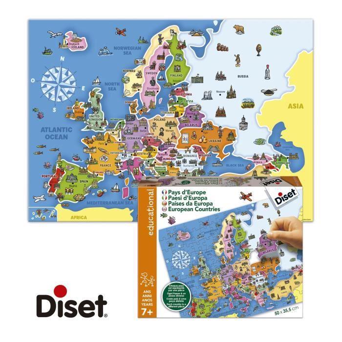 DISET Puzzle Europe