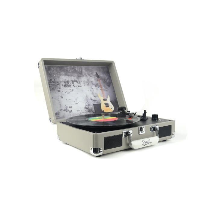 DUAL DL-I-ROCK Valise platine Vinyle avec album Dire Straits inclus
