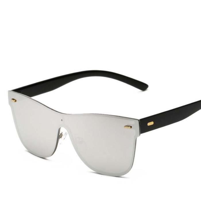17f341b768395 Lunettes De Soleil Unisexe Homme Femme UV400 Rétro Fashion Sunglasses  Conducteur Aviateur Pilote Lunette Solaires Verre Argent