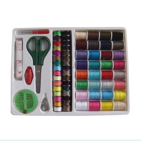 100 en 1 essentiel coudre outils kit couture coffret for Coffret de couture