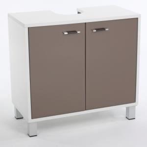 meuble de dessous de lavabo couleur taupe achat. Black Bedroom Furniture Sets. Home Design Ideas