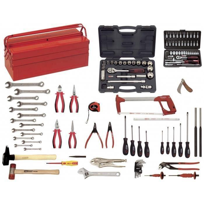 caisse 131 outils pour la m canique g n rale ks achat vente pack outil a main caisse 131. Black Bedroom Furniture Sets. Home Design Ideas