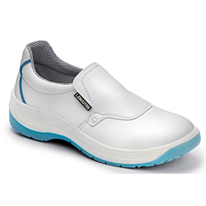 chaussure de securite blanche achat vente pas cher. Black Bedroom Furniture Sets. Home Design Ideas
