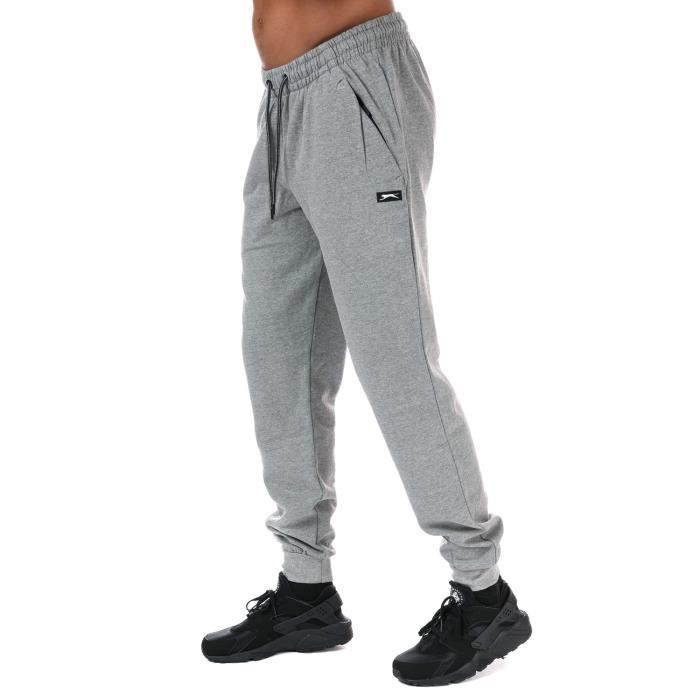 Pantalon de jogging Slazenger Finn pour homme en gris chiné Gris ... 727e7ceed3d