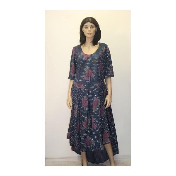 robes avec motif fleuri