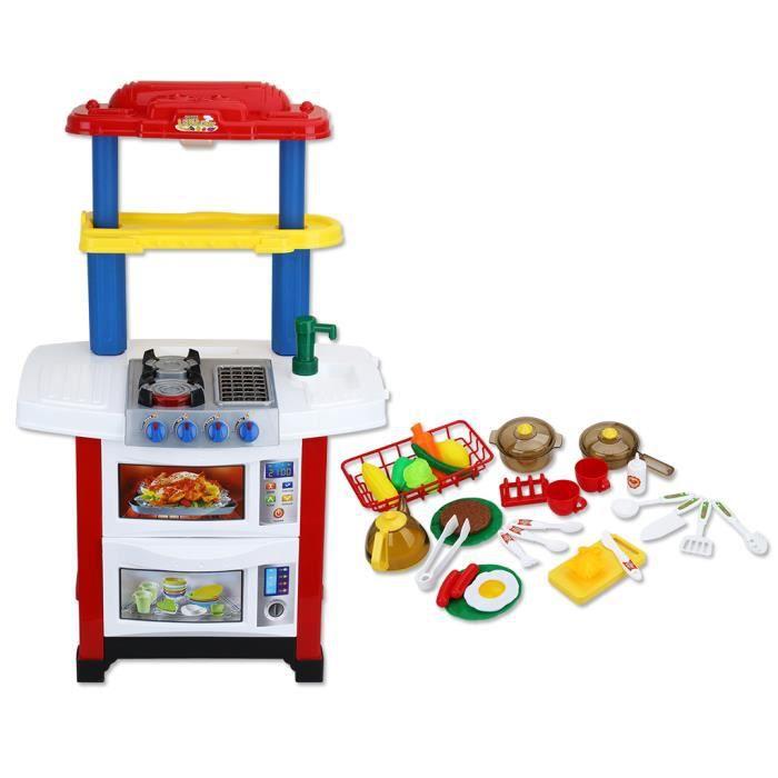 Virhuck Enfants Cuisine Simulation Jeux de Rôles Cuisine Enfant ...