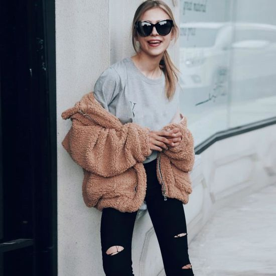 Kaki Zly70913783kh Outwear Manteau Parka D'hiver Femme Pour Décontracté XxYwwFq0nz