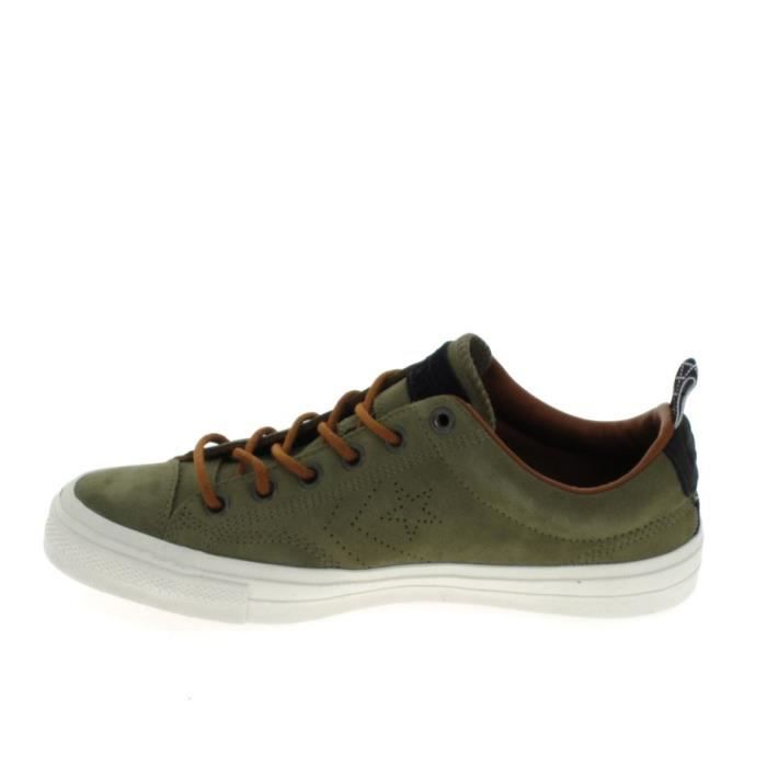Basket mode - Sneakers CONVERSE Star Player Suede Khaki