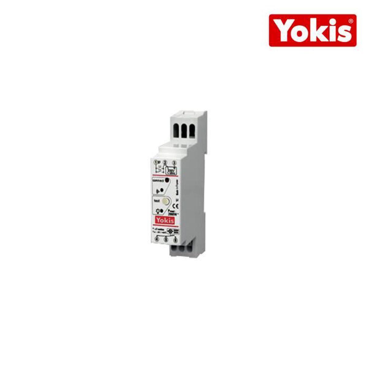 ÉMETTEUR - ACTIONNEUR  Télérupteur temporisé Yokis Radio Modulaire 2000W