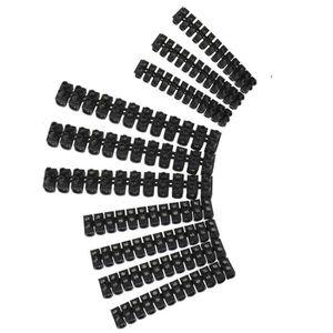 VOLTMAN Lot de 10 barrettes 3x4 - 4x6 - 3x10 mm