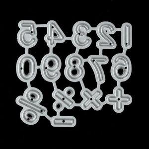 OUTIL SCRAPBOOKING Algorithme numérique Métal Coupe Dies Stencil bric