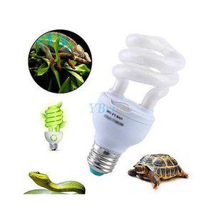 RÉFLECTEUR POUR COLLIER UVB5.0 13w Reptiles Insectes Ampoule Lumière lampe