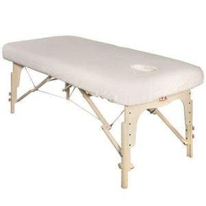TABLE DE MASSAGE Housse de table en flanelle avec trou visage