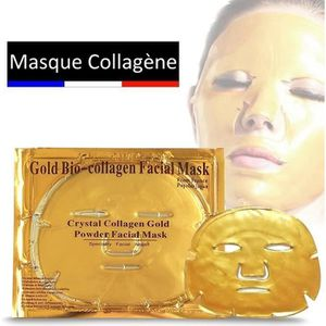 ANTI-ÂGE - ANTI-RIDE First Beauty - Masque Collagène Or / Contient 24K